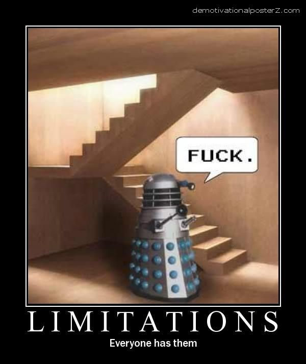 Limitations - everyone has them