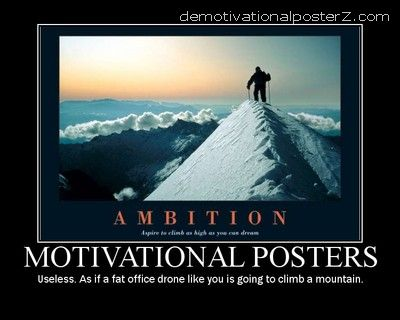 Motivational Posters Useless