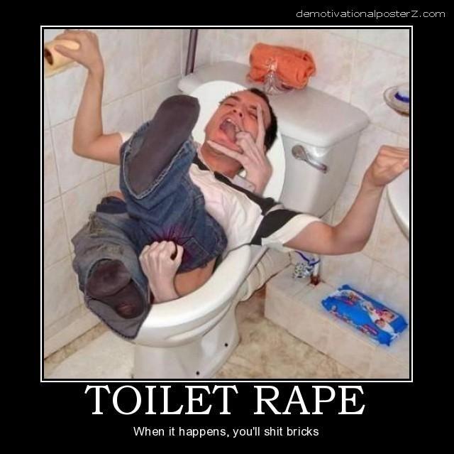 Toilet rape