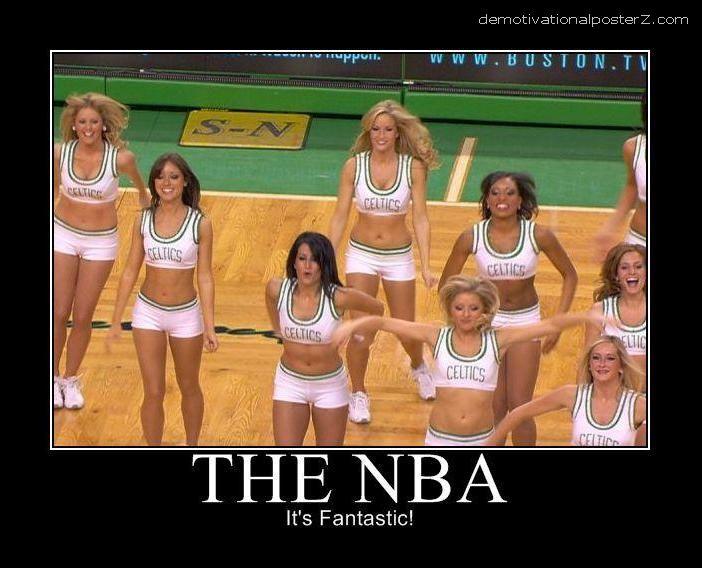 The NBA - it's fantastic