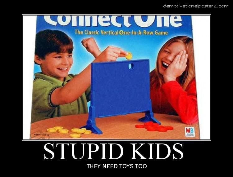connect one game stupid kids