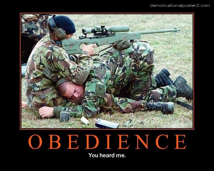 OBEDIENCE - You heard me