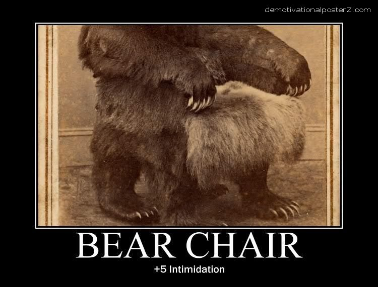 bear chair +5 intimidation
