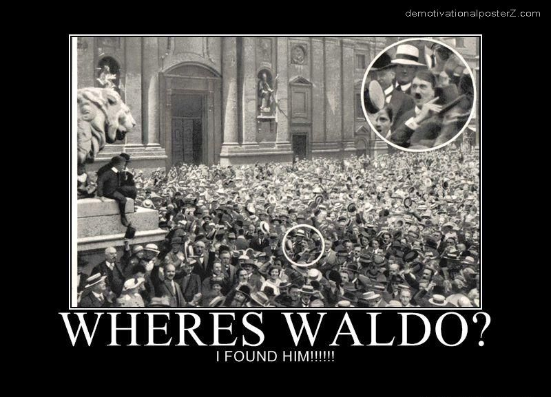 where is waldo i found him hitler