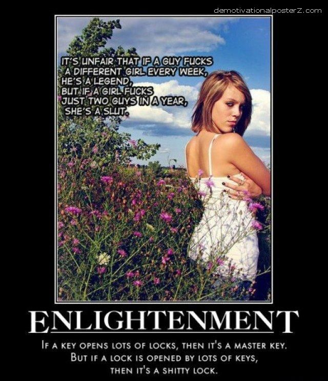 ENLIGHTMENT, if a key opens lots of locks it's a master key poster