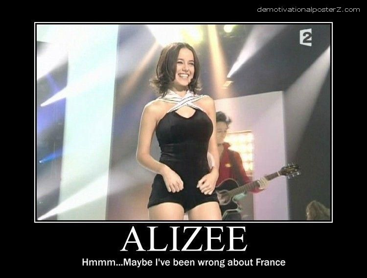 alizee motivational poster