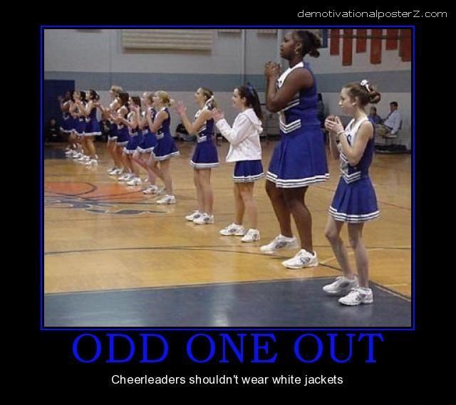 gigantic cheerleader