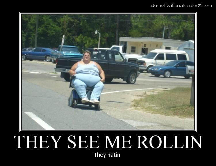 wheelchair rollin