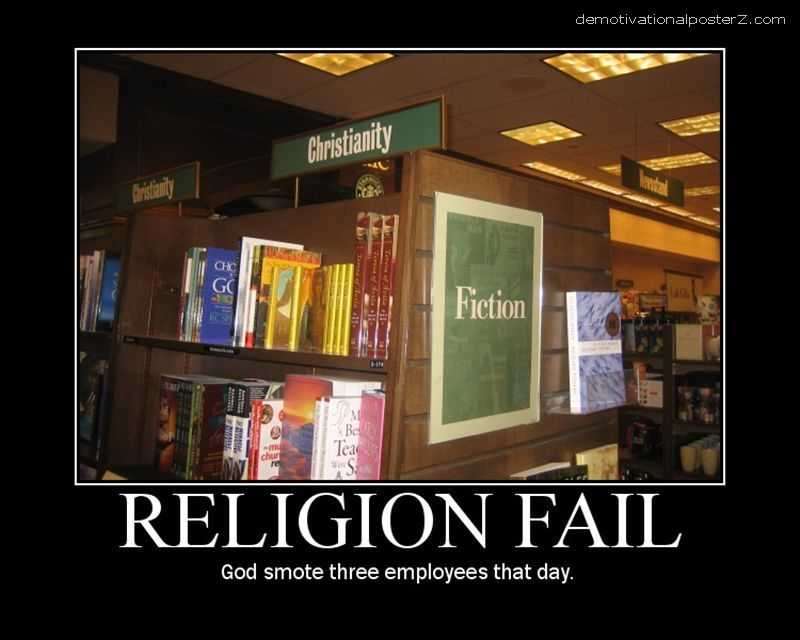 religion fiction library