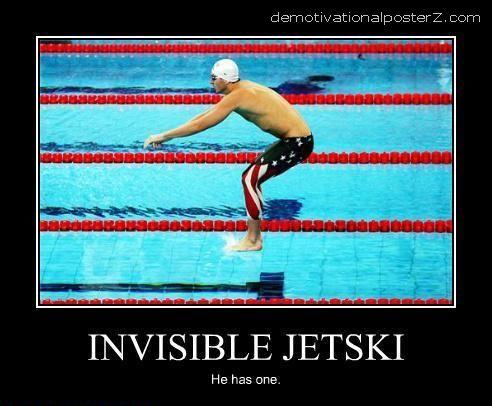 invisible jetski