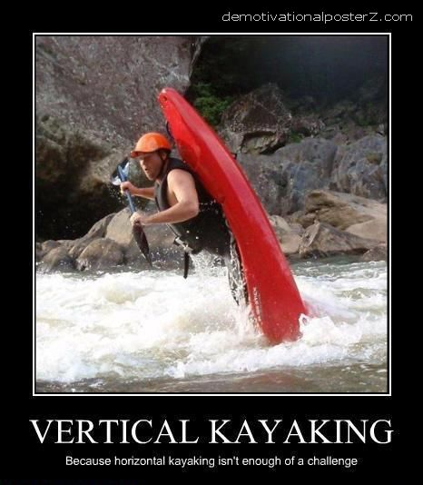 VERTICAL KAYAKING