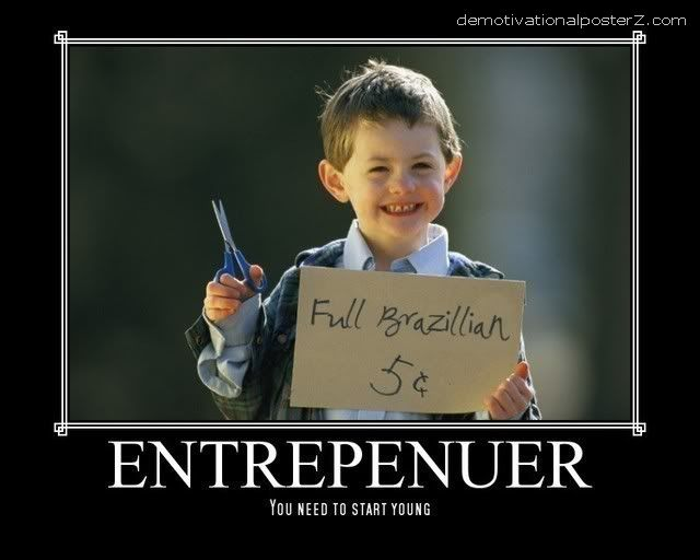 FULL BRAZILIAN 5 CENTS - ENTREPRENEUR naughty kid