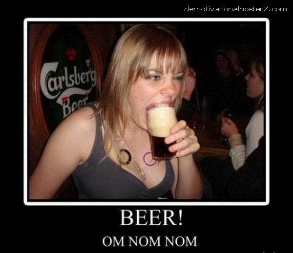 BEER! OM NOM NOM
