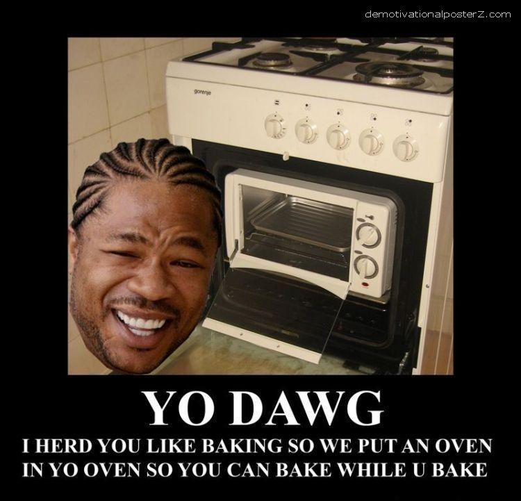 yo dawg oven xzibit