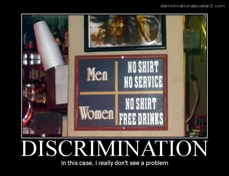 discrimination motivational