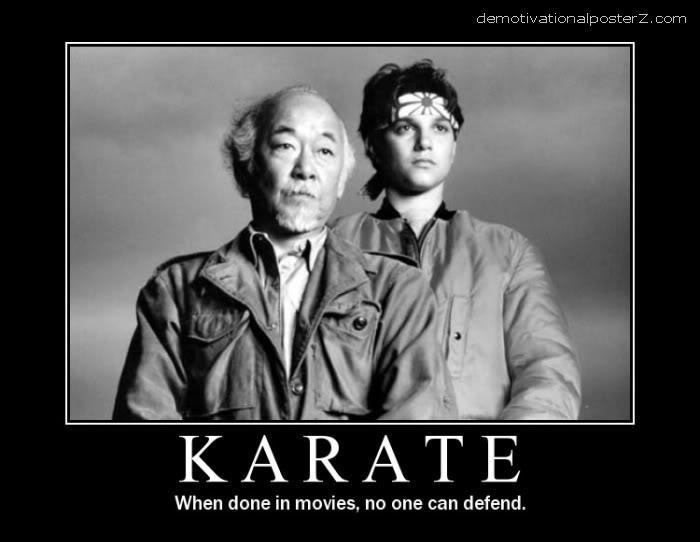 karate in movies