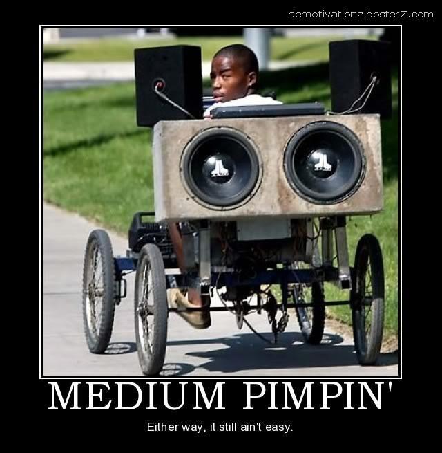 medium pimpin motivational