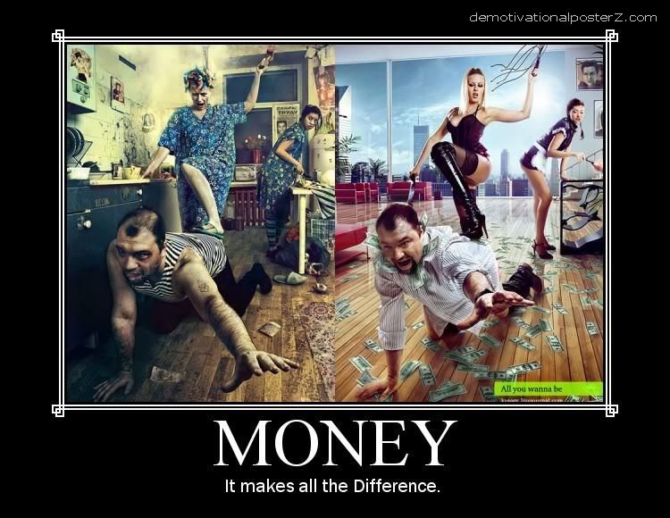 money motivational poster
