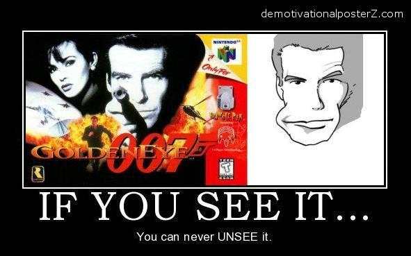 james bond mouth optical illusion unsee goldeneye, golden eye 007