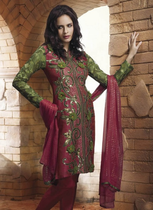 latest designs of kurtis of 2010
