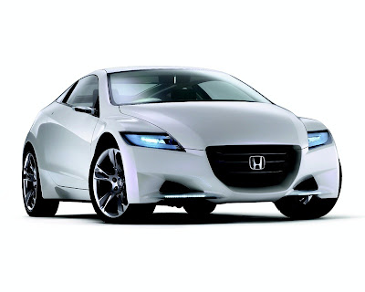 this is concept cars Honda CRZ