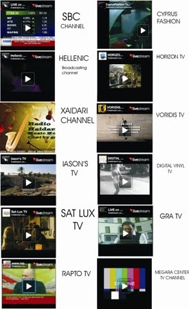 Live Internet TV Channels