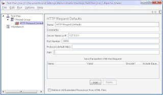 jmeter http request defaults