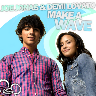 Demi Lovato Wave on Disney Channel Fan  Demi Lovato   Joe Jonas   Make A Wave Live   Epcot