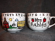 Hand Painted Personalized coffee mug