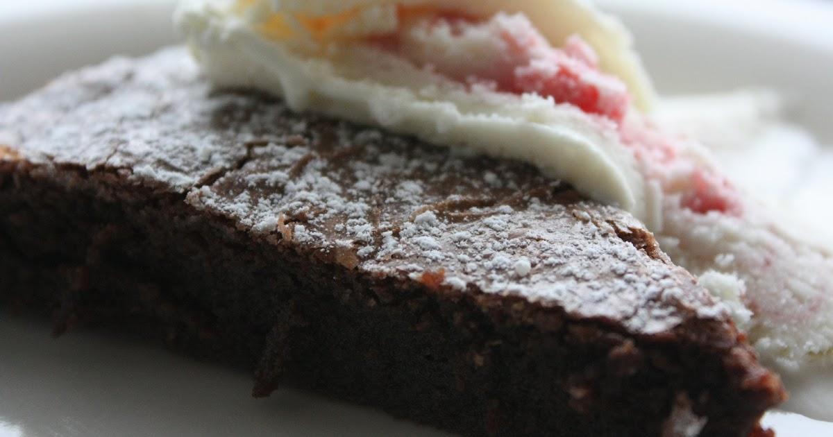 recept kladdkaka blockchoklad
