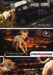 "CARTEL CINE ""RUN CHONI RUN"""