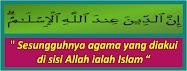islam sebagai cara hidup..