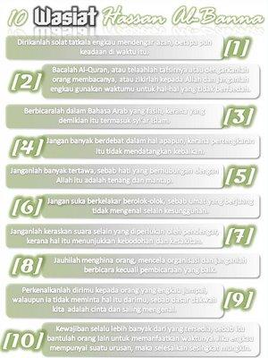 10 wasiat hasan al-banna..