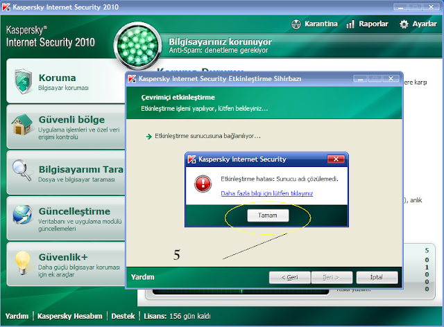 Свежие Ключ Касперский 2010.