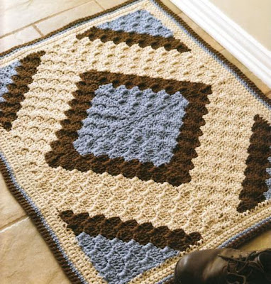 Free Crochet Pattern For Diagonal Dishcloth : CROCHET DIAGONAL STITCH PATTERNS Crochet Patterns Only