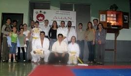 En el Dojo de la Guardería, año 2007