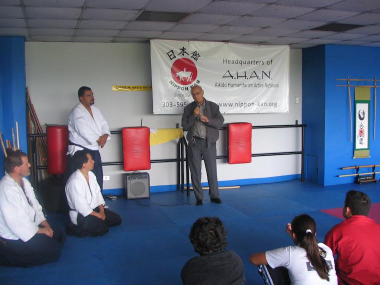 Donación del 2do. Seminario AHAN Nippon Kan Guatemala