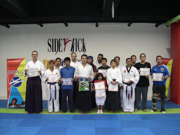 Donación del 3er. Seminario AHAN Nippon Kan Guatemala