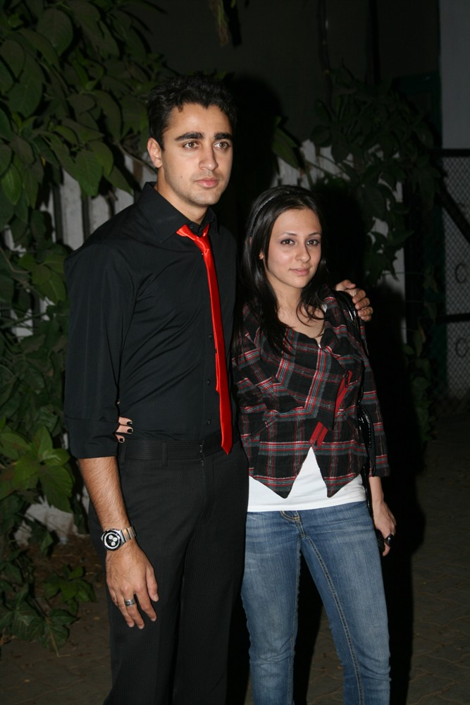 Bollywood actor Imran Khan and his childhood sweetheart Avantika Malik got