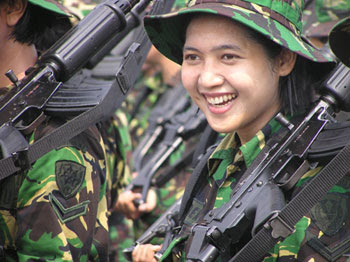 Foto Tentara Indonesia