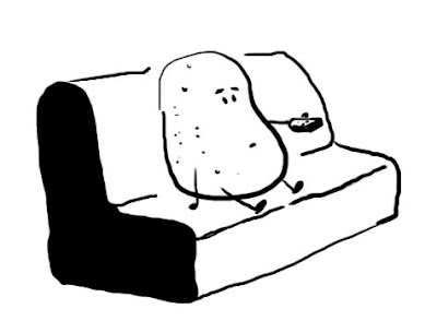 Random Drawing Couch Potato
