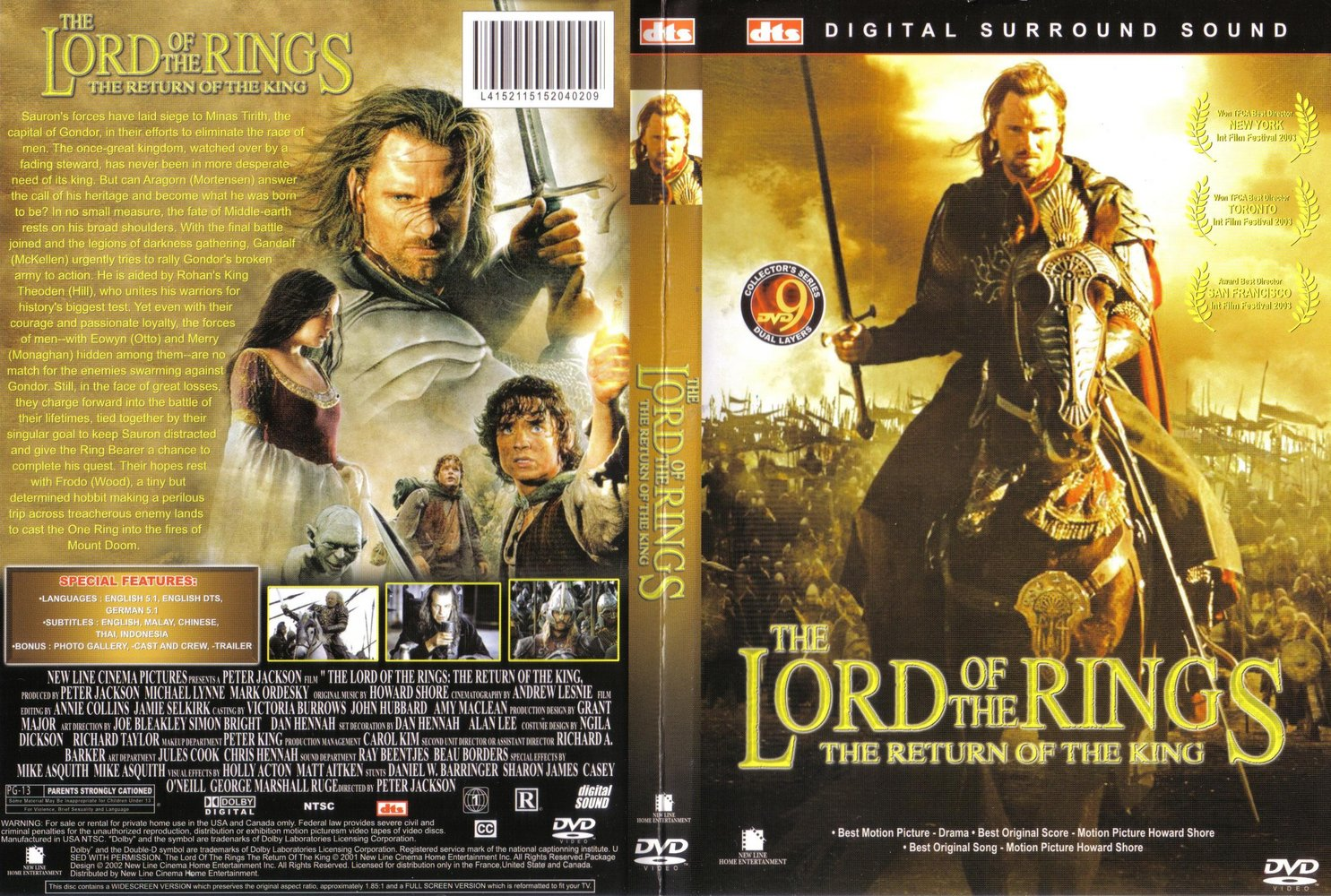 the lord of the rings the return of the king book report