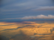 Patagónia, vista do ar