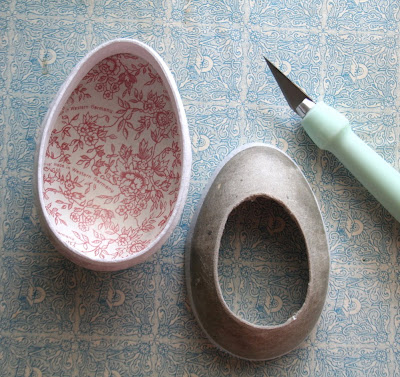 how to get smooth paper mache