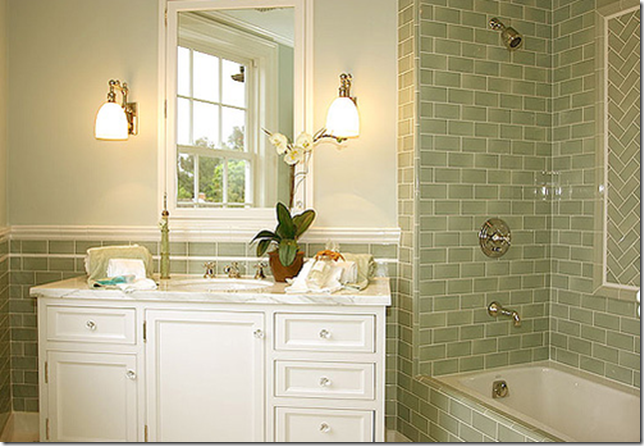 Home Design Idea Bathroom Designs Using Subway Tile