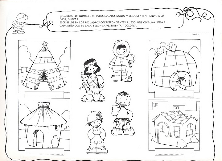 Diferentes tipos de viviendas dibujos - Imagui