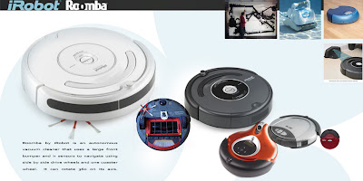 Roomba based car.
