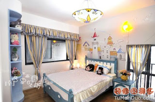 Children's room interior Medness style, photos and image