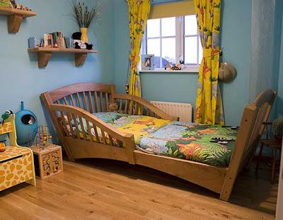 Classic children's bed