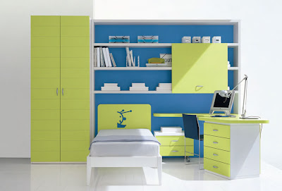 Contemporary furniture and interior nursery